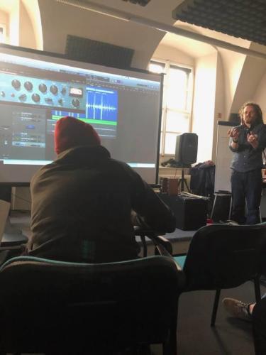 Zvukový technik jaro 2019 Olomouc